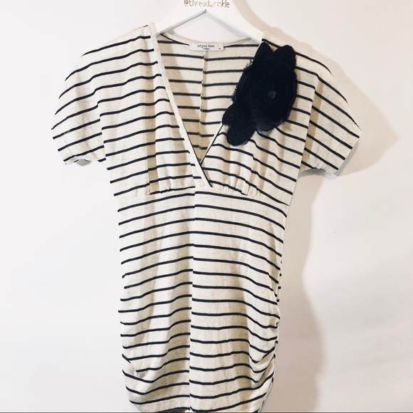 style tree Tops - Style Tree Striped Top sz M